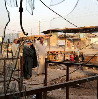 The wave of bloodshed shows no sign of abating in Iraq (AP)