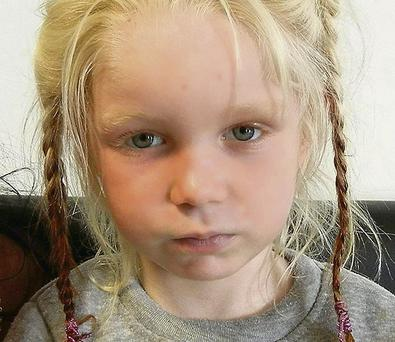 Children's Ombudsman's report found the case of Maria (above) — a blonde, blue-eyed girl taken from a Roma family in Greece — influenced members of the public who raised concerns in Ireland.