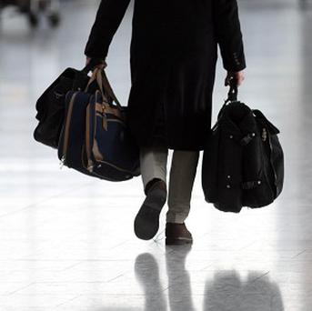 A 71-year-old man has been detained after parts of a potential explosive device were found in his carry-on luggage at Montreal's Trudeau International Airport