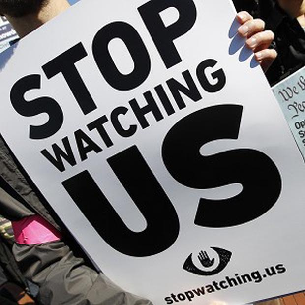Demonstrations have been held as details emerge of the National Security Agency's mass surveillance programmes (AP)