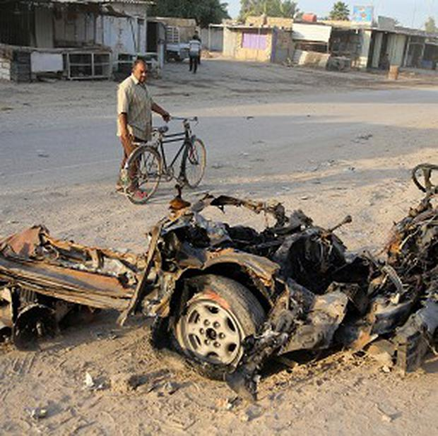 Just last week, a barrage of car and suicide bomb blasts rocked Baghdad and two northern Iraqi communities, killing dozens of people (AP)