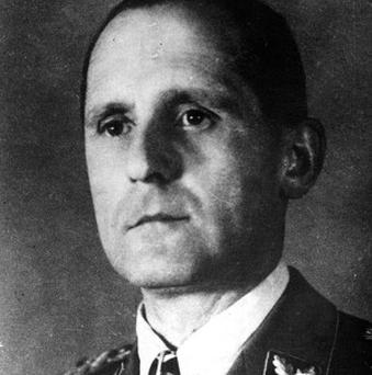 Gestapo head Heinrich Mueller died in Berlin in the final days of the Second World War, a researcher says.