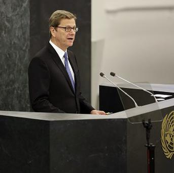 Germany's foreign affairs minister Guido Westerwelle has summoned Britain's ambassador in Berlin (AP)