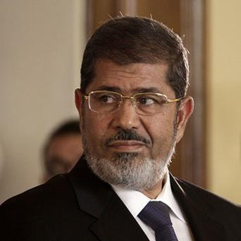 Mohammed Morsi is said to have spent his first night in jail in a prison hospital (AP)