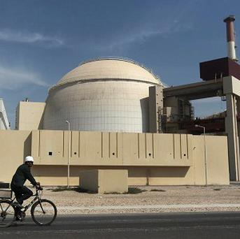 The reactor building of the Bushehr nuclear power plant, in Iran (AP/Mehr News Agency)
