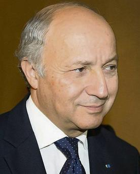 French Foreign Minister: Laurent Fabius at the Geneva talks on Iran's nuclear power