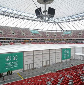 The latest UN Climate Change Conference is taking place in Warsaw (AP)