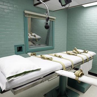A man who abducted a young couple, raping the woman and fatally stabbing the man, has been executed in Huntsville, Texas