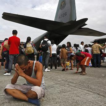 The aid effort is picking up pace after the Philippines typhoon