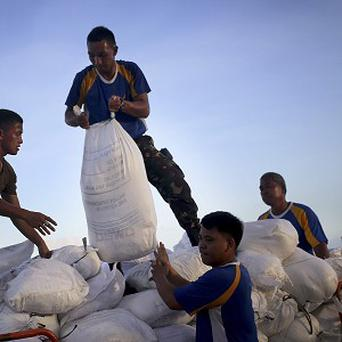 The Philippines government has defended its response to Typhoon Haiyan