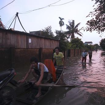 The death toll from flooding in central Vietnam has hit 36