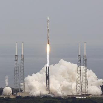 Nasa's Maven aircraft blasts off from Cape Canaveral Air Force Station, Florida (AP)