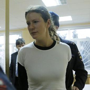 Jailed Greenpeace International activist Ana Paula has been given bail in Russia (AP)