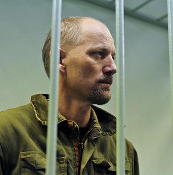 Greenpeace activist Frank Hewetson is one of those held by the Russians.