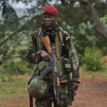 The French troops will join an African force (AP)