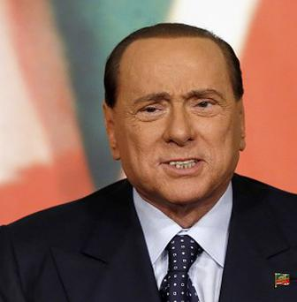 Silvio Berlusconi has been expelled from the Italian Senate over his fraud conviction (AP)