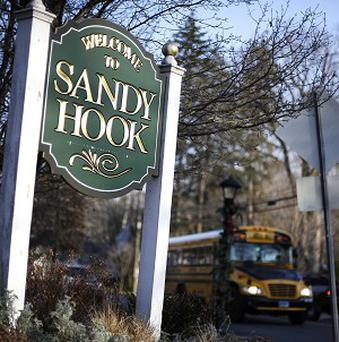 Recordings of emergency calls from the Sandy Hook Elementary School shootings have been released after a legal challenge. (AP/Jessica Hill)