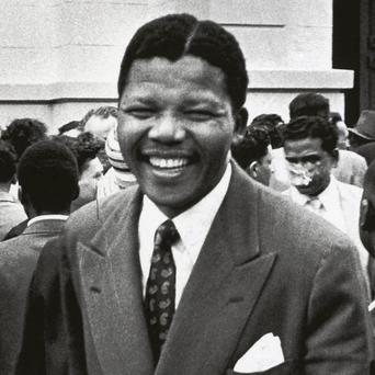 Mandela as a younger man