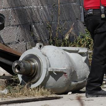 A shipment of highly radioactive cobalt-60 was dumped by truck thieves in central Mexico