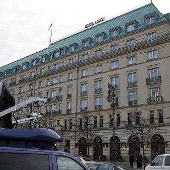 The world famous Hotel Adlon in Berlin