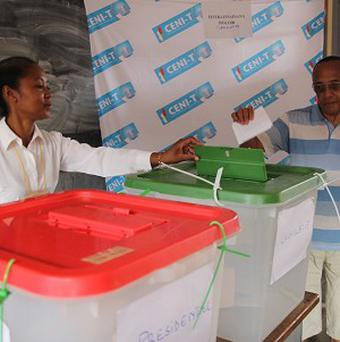 There have been claims of voting irregularities in the Madagascar presidential elections (AP)