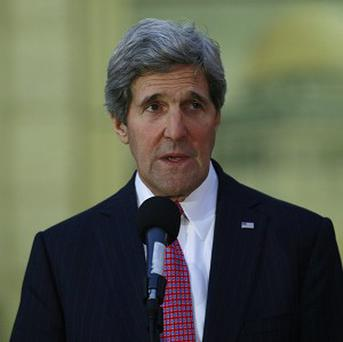 US Secretary of State John Kerry said the United States will support Iraq's fight against al-Qaida-linked militants but won't send in troops (AP)