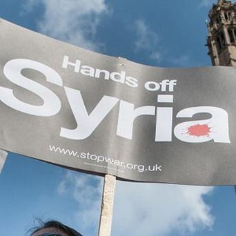 The Western-backed Syrian opposition in exile has welcomed the fighting against the Islamic State