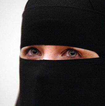 A French muslim woman has been fined for insulting police in a row over her wearing a veil
