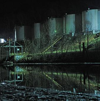 A chemical spill has affected the Elk River in Charleston, West Virginia (AP)