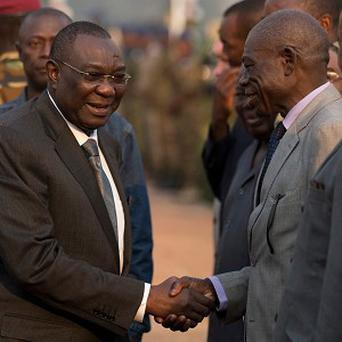 Central African Republic president Michel Djotodia, left, seized power in March 2013 (AP)