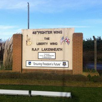 A probe into illegal possession of recreational drugs has spread to RAF Lakenheath