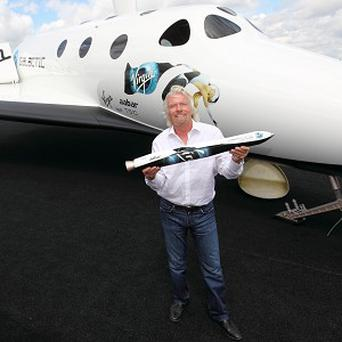 Sir Richard Branson's Virgin Galactic space craft reached its highest altitude to date