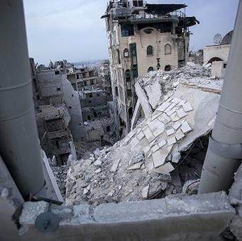 Nearly 700 people have been killed in rebel infighting in opposition-held parts of northern Syria over the past nine days, according to activists (AP)