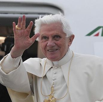 Retired Pope Benedict XVI toasted his brother Georg on his 90th birthday
