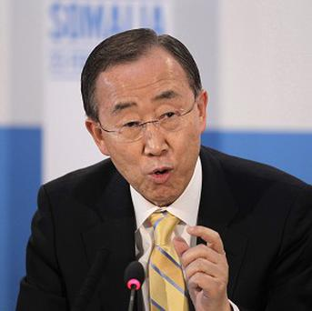 United Nations secretary general Ban Ki-moon invited Iran to a pre-Syria peace talks conference