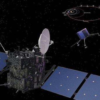 The Rosetta Orbiter & Lander probe (European Space Agency)