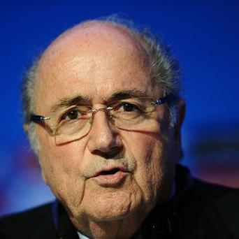 Fifa president Sepp Blatter has expressed confidence in preparations for the World Cup