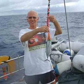 Roger Pratt, 62, died defending his wife Margaret when attackers boarded their boat in St Lucia on Friday