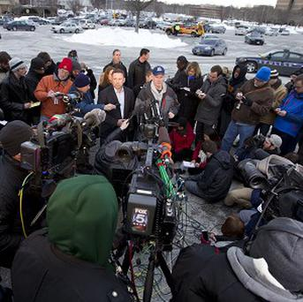 Howard County police chief William McMahon speaks to reporters after a mall shooting that left three dead (AP)