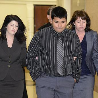Erick Munoz said his wife was clear about not wanting life support in this type of situation (AP)