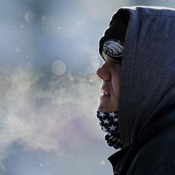 The American Midwest is caught in an unusually cold Arctic blast (AP)