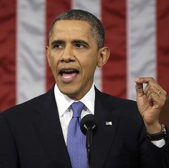 President Barack Obama gives his State of the Union address (AP)