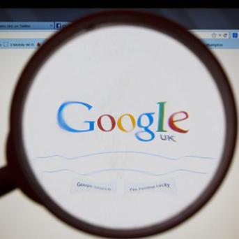 Google has a market share of about 90per cent of internet searches in Europe