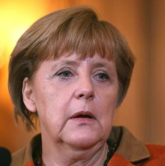 German Chancellor Angela Merkel says the comment by a US diplomat is