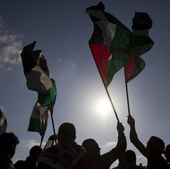 Palestinians and Israelis are disputing the status of a village (AP)