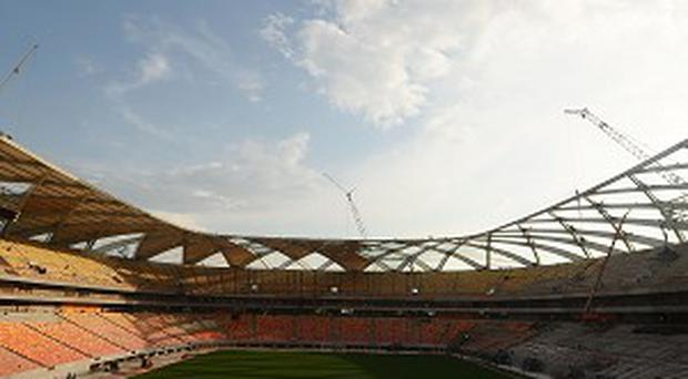 The Arena da Amazonia in Manaus