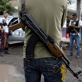 More than 100,000 people have been killed in gang-related violence in Mexico since 2007. (AP)