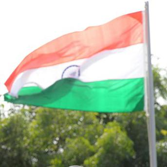 The Indian flag is flying at Sochi after the country was reinstated by the IOC