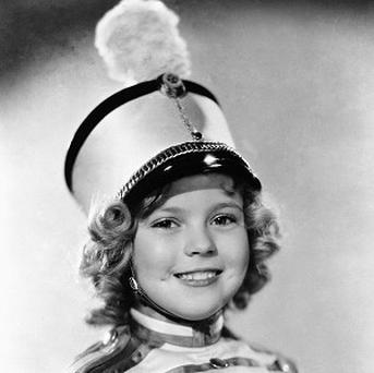 Actress Shirley Temple as she appeared in Poor Little Rich Girl in 1936 (AP)
