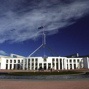 The Australian government is planning an asset sell-off to help plug a huge budget hole